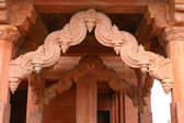 Architecture detail at Fatehpur Sikri — Stock Photo