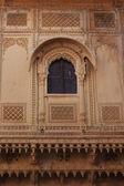 Stone carving at jaisalmer fort rajasthan india — Stock Photo