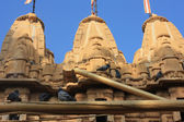 Jain temple jaisalmer rajasthan india — Stockfoto