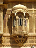 Architecture detail of patwa haveli — Stock Photo