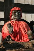 Pindola divinity wooden statue — Stock Photo