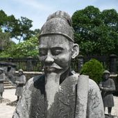 Mandarin at Royal Tomb — Stock Photo