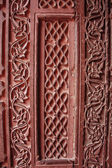 Agra fort stone carving pattern design — Stock Photo