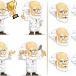 Scientist or Professor Customizable Mascot 7 — Stock Vector #27739085