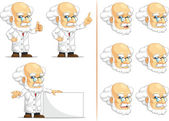 Scientist or Professor Customizable Mascot 6 — Stock Vector