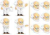 Scientist or Professor Customizable Mascot 13 — Stock Vector