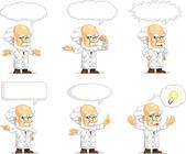 Scientist or Professor Customizable Mascot 15 — Stock Vector