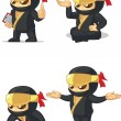 Постер, плакат: Ninja Customizable Mascot 10