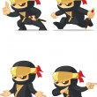 Постер, плакат: Ninja Customizable Mascot 15