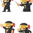 Постер, плакат: Ninja Customizable Mascot 16