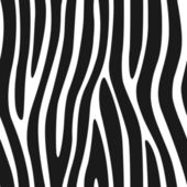 Zebra Stripes Seamless Pattern 3 — Stock Vector