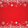 Decorative Christmas Border Vector — Stock Vector