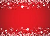 Decorative Christmas Border Vector — Stock Vector