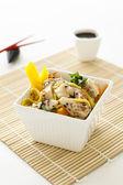 Sesame Chicken Noodle Salad — Stock Photo