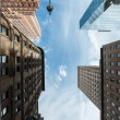 NYC architecture skycrapers Vertigo — Stockfoto