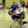 Handball game - Foto Stock