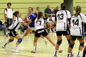 Handball game — Stock Photo