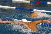 Zwemmende — Stockfoto
