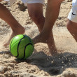 Stock Photo: Beach soccer