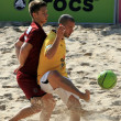 Beach soccer — Foto de Stock