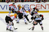 Hockey su ghiaccio — Foto Stock