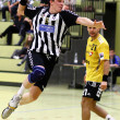 Handball game - Stock Photo