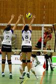 Juego de voleibol — Foto de Stock