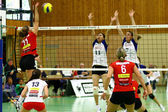 Volleyball game — Stockfoto