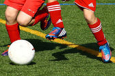 Children football — Stock Photo