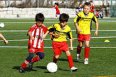 Children football — Stock Photo