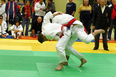 Judo Turnier — Stock Photo