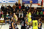 Jogo de basquete — Foto de Stock