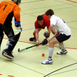 Indoor Hockey - Stock Photo