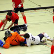 Indoor Hockey — 图库照片