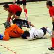Indoor Hockey — Stockfoto
