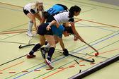 Indoor Hockey — Stock Photo