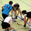 Indoor Hockey — Foto Stock