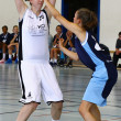 Basketball game - Stockfoto