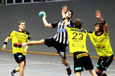 Handball game — Stock Photo