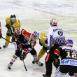 Ice Hockey game — Stok fotoğraf