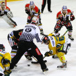 Ice Hockey game - Stock Photo