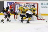 Gry hokej na lodzie — Zdjęcie stockowe