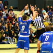 Foto Stock: Handball game