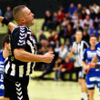 Handbal spel — Stockfoto
