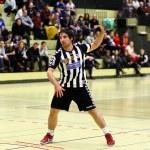 Handbal spel — Stockfoto
