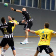 Handball game - Stockfoto