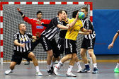 Handball game — Fotografia Stock