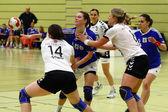 Handball-spiel — Stockfoto