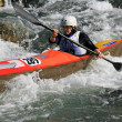 Wildwasser Sprint — Stock Photo