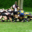 Rugby game — Stockfoto